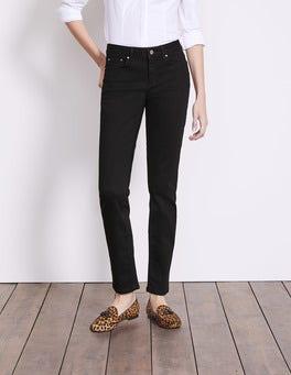 Black Trafalgar Straight Leg Jeans