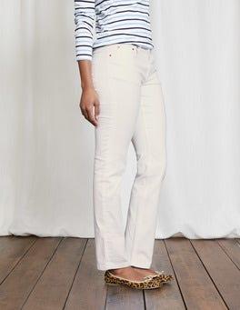 Ecru Trafalgar Straight Leg Jeans