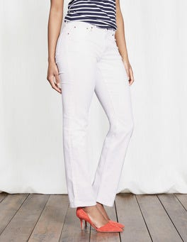 Ladies White Jeans at Boden