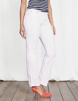 White Trafalgar Straight Leg Jeans
