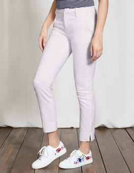 White Wellington Jeans