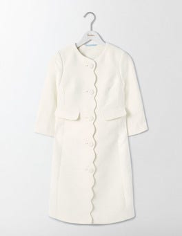 Ivory Odetta Occasion Coat