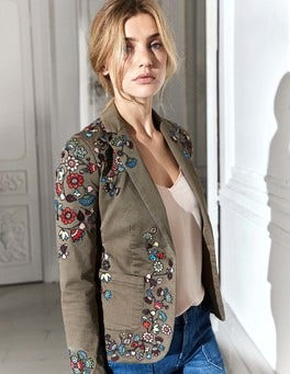 Florence Embroidered Blazer