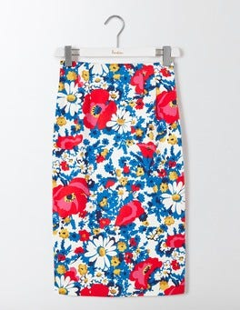 Multi Floral Richmond Skirt