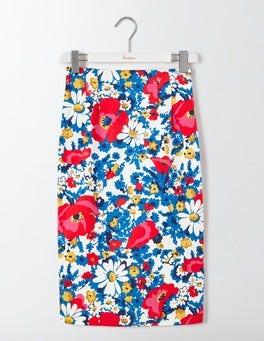 Multi Floral Richmond Pencil Skirt