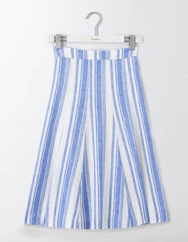 Blue Stripe Cora Skirt