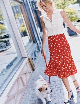 Avril Jersey Skirt