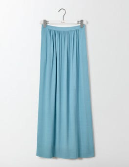 Delphium Blue Juliette Maxi Skirt