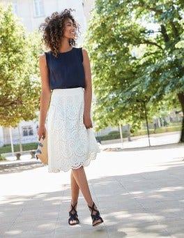 Pamela Broderie Skirt