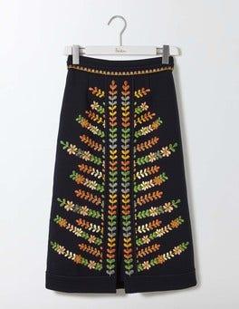 Navy Rita Skirt