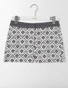Ivory Collage Richmond Shorts