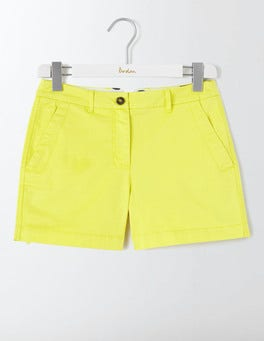 Pineapple Yellow Rachel Chino Shorts