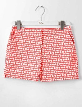 Coral Reef Pompom Spot Textured Richmond Shorts