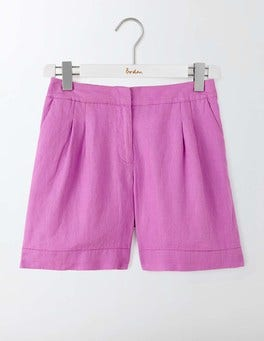 Wisteria Blooms Lottie Linen Shorts
