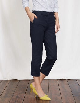 Navy Richmond 7/8 Trousers
