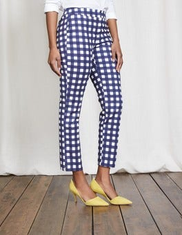 Gingham Richmond 7/8 Pants