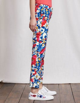 Multi Floral Richmond 7/8 Trousers