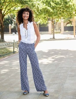 Camille Wideleg Trousers