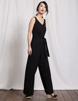 Black Ashley Jersey Jumpsuit