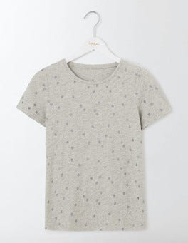 Grey Marl Wobbly Spot Make a Statement Tee