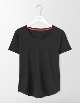 Black Supersoft Swing Tee