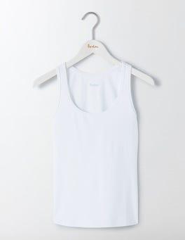 White Essential Vest