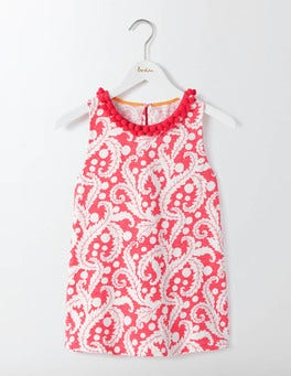 Coral Reef Acanthus Leaf Melody Jersey Tank