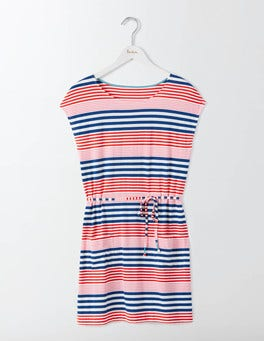 Imperial Blue Multi Stripe Adriana Tunic