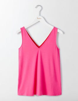 Mid Pink Cosima Jersey Top