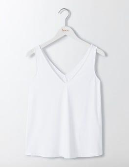 White Cosima Jersey Top