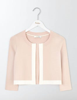 Pink Pearl/Ivory Alana Cardigan