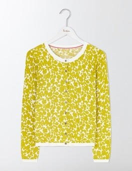 Mimosa Shadow Floral Polly Printed Cardigan