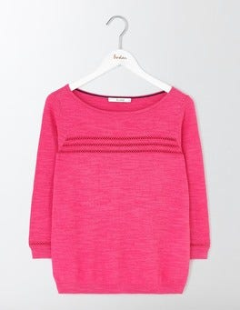 Mid Pink Beatrice Sweater