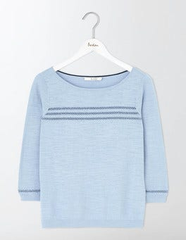 Powder Blue Ava Jumper