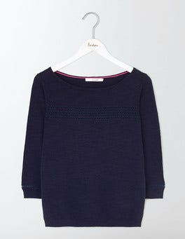 Navy Ava Jumper