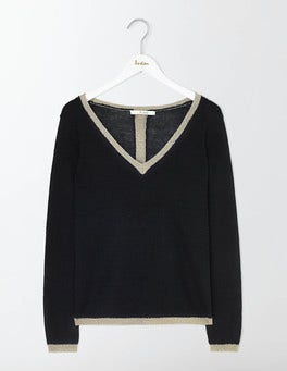Black Alice Jumper
