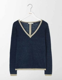 Denim Melange Alice Jumper