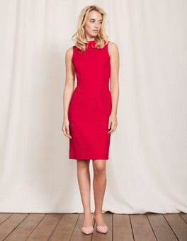 Poppy Red Martha Dress