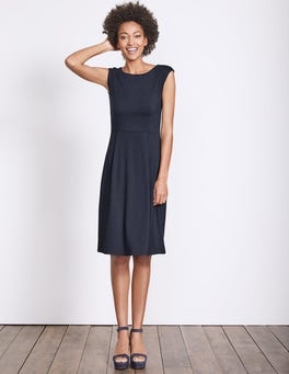 Navy Marina Jersey Dress
