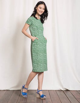 Dill Mono Vine Phoebe Jersey Dress