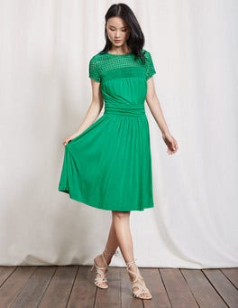 Meadow Green Angeline Jersey Dress