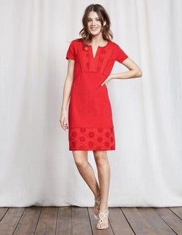 Strawberry Sundae Clio Broderie Jersey Dress