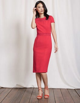 Summer Poppy Hera Ponte Dress