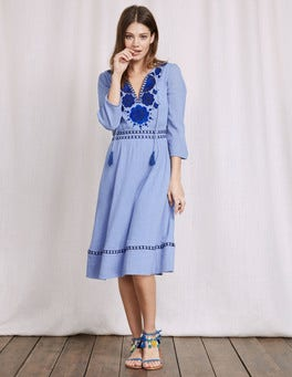 Chambray Allegra Dress