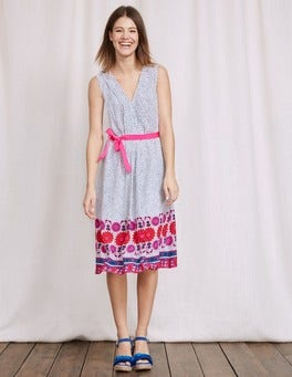 Pink Scarf Ellie Dress
