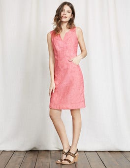 Watermelon Nathalie Dress