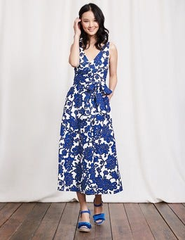 Blues Island Vine Riviera Dress