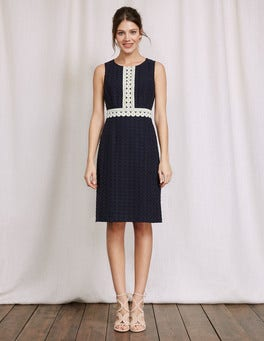 Navy Lydia Lace Dress