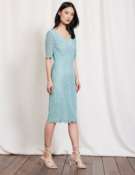 Mineral Blue Carin Lace Dress
