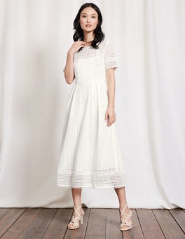Ivory Althea Lace Dress